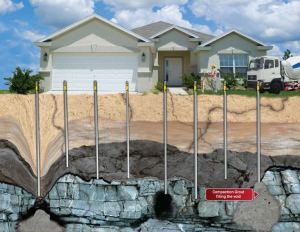 compaction grouting process for sinkhole remediation